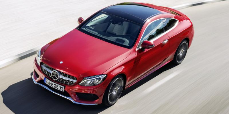 Mercedes C Coupe 2016