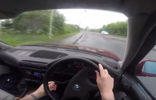 BMW i policja