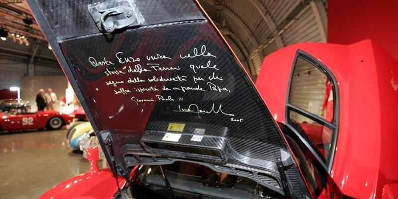 Ferrari Enzo Jan Paweł II
