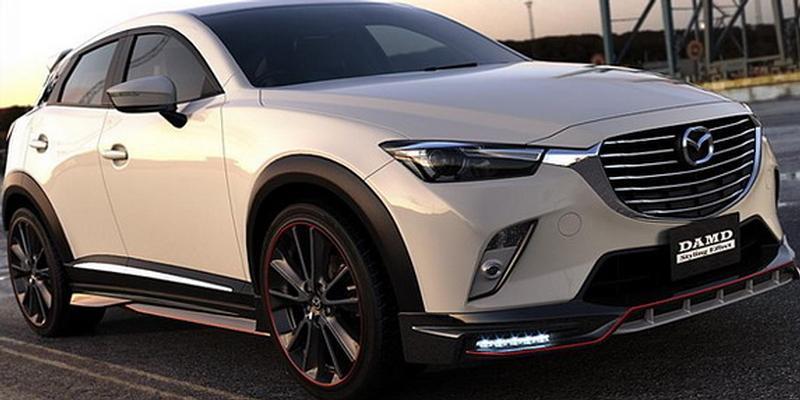 Mazda CX-3 DAMD tuning