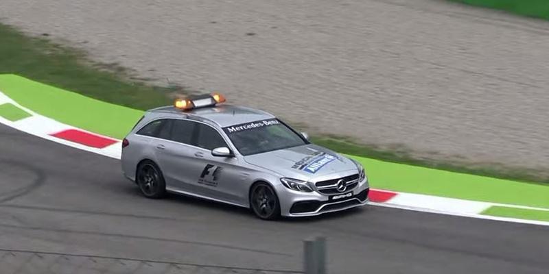 Mercedes-AMG C63S Medical Car F1