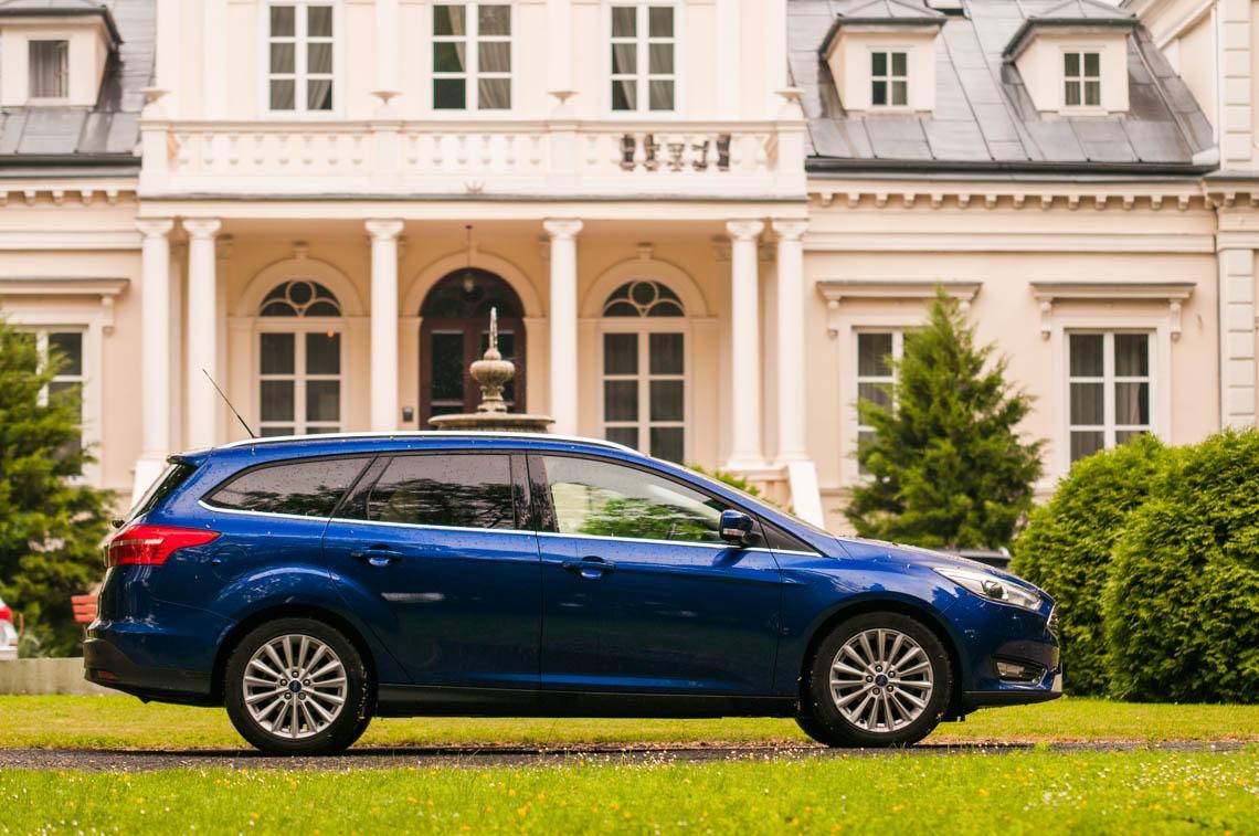 Ford Focus 1,5 TDCI Kombi Titanium
