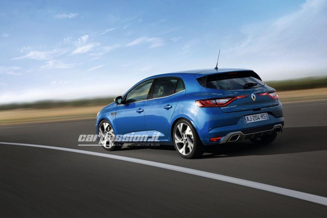 Renault Megane 2016 wyciek