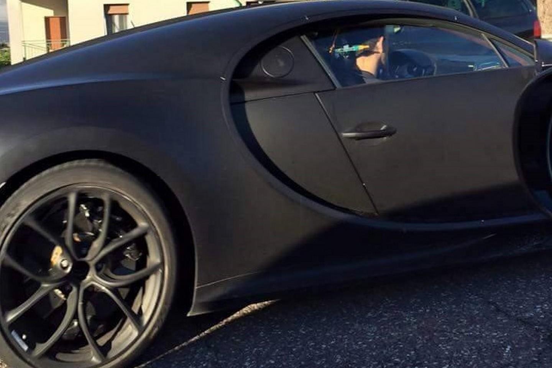 Bugatti Chiron Mule