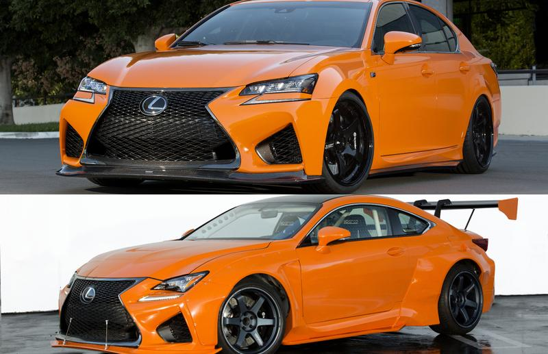 Lexus IS F GS F SEMA
