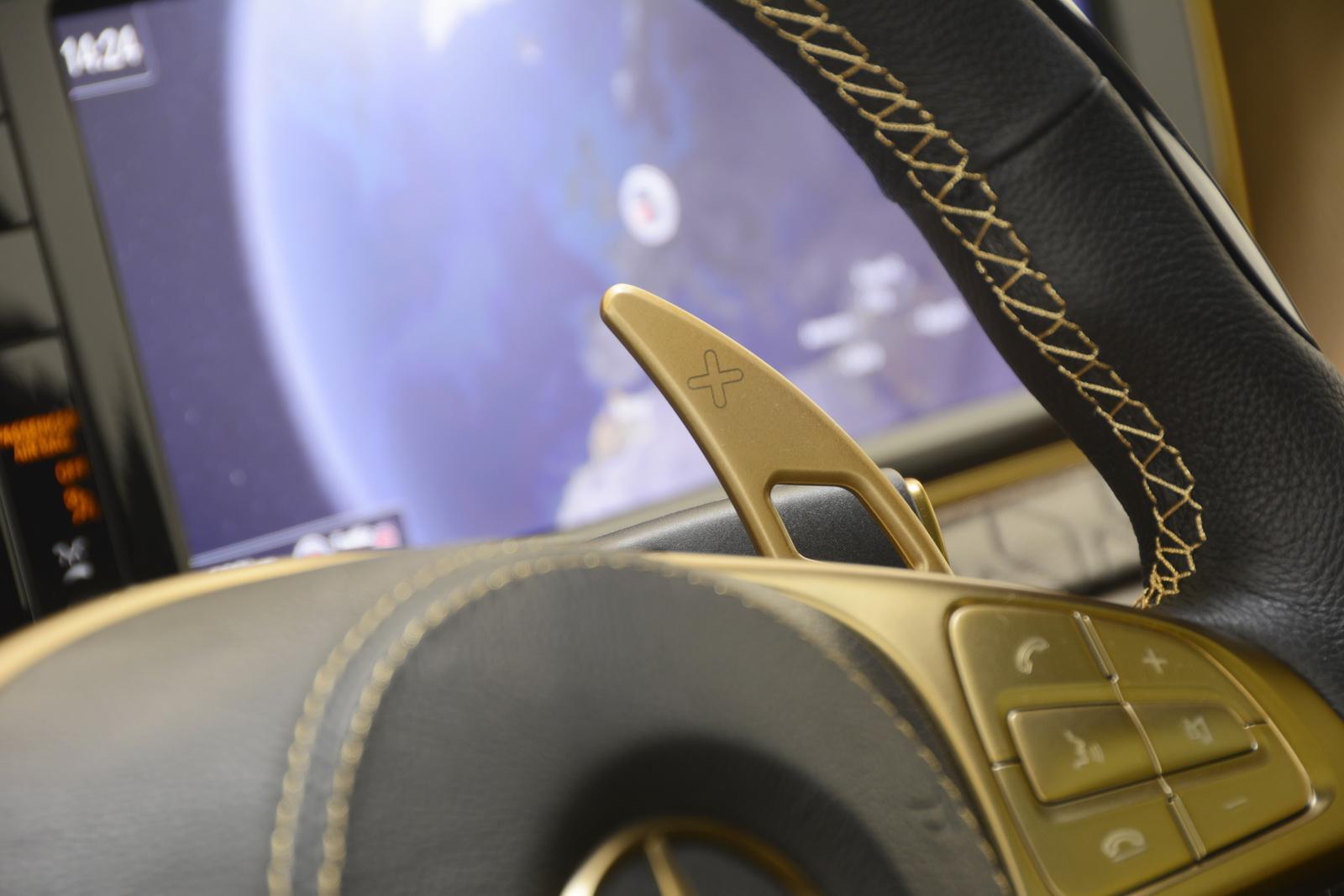 Brabus Rocket 900 Desert Gold