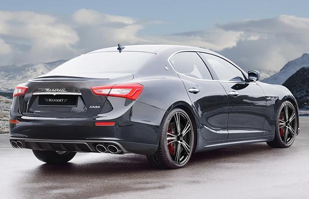 Mansory Maserati Ghibli