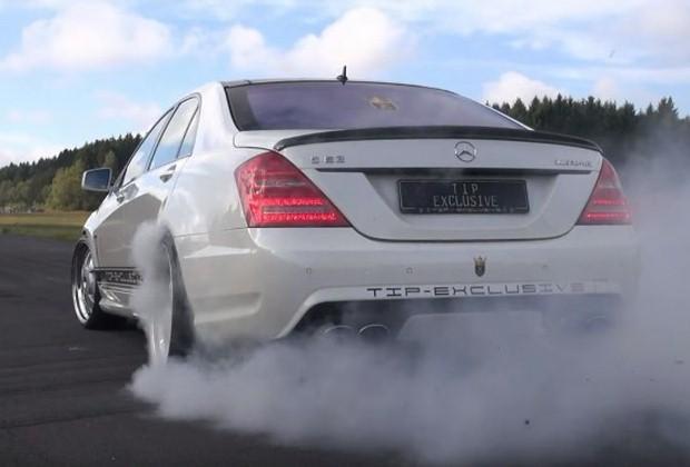 S63 AMG Burnout