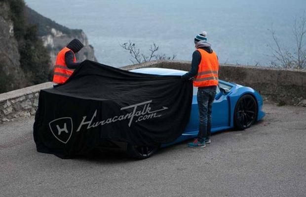 Lamborghini Huracan Spy Shot