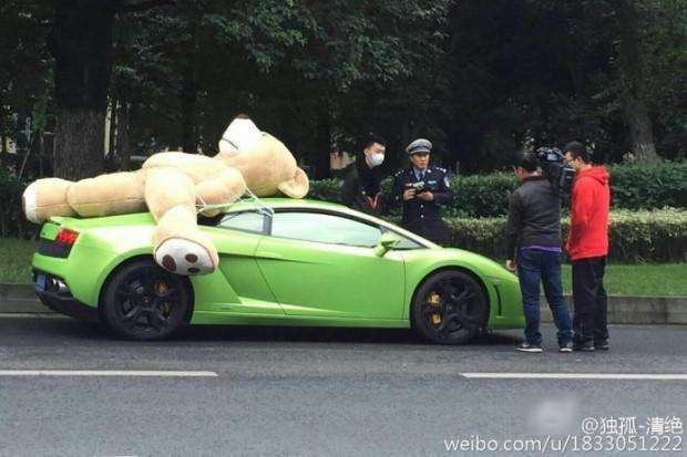 Lamborghini miś