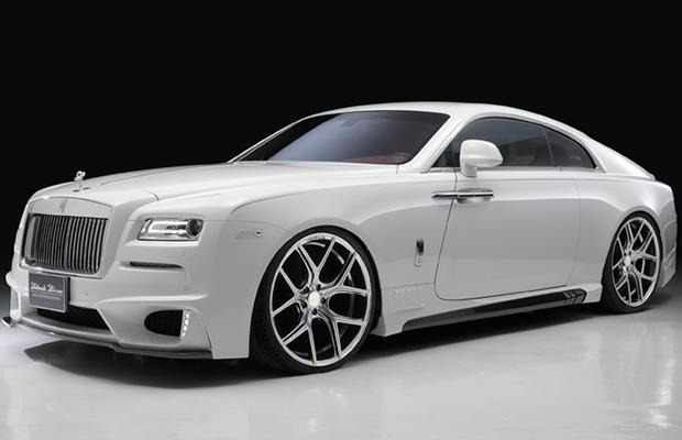 Rolls-Royce Wraith Black Bison by Wald