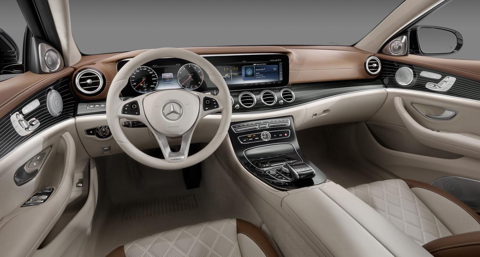 Mercedes-Benz E-Klasa wnętrze