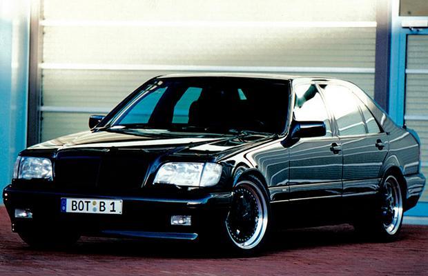 Brabus Mercedes S73 W140