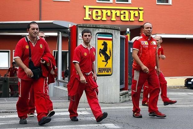 Pracownicy Ferrari