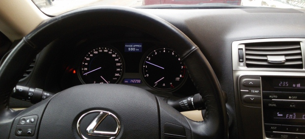 Lexus IS 250 2008 Interior