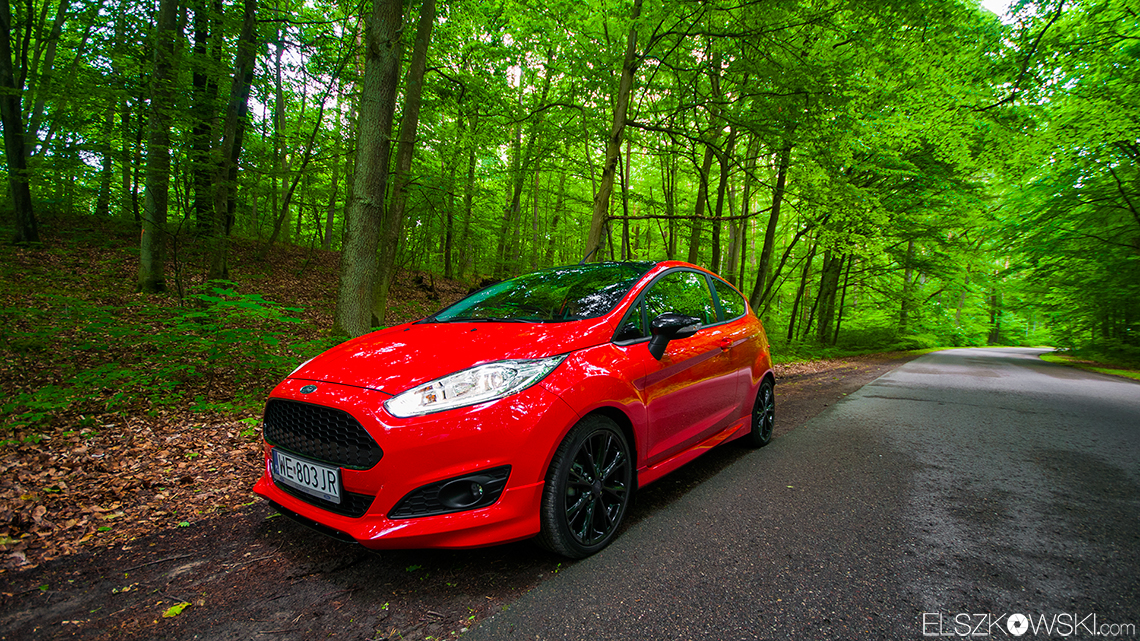 ford fiesta red edition test. Black Bedroom Furniture Sets. Home Design Ideas