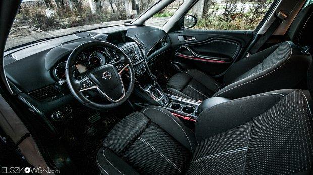 Opel Zafira Tourer Flex7 interior