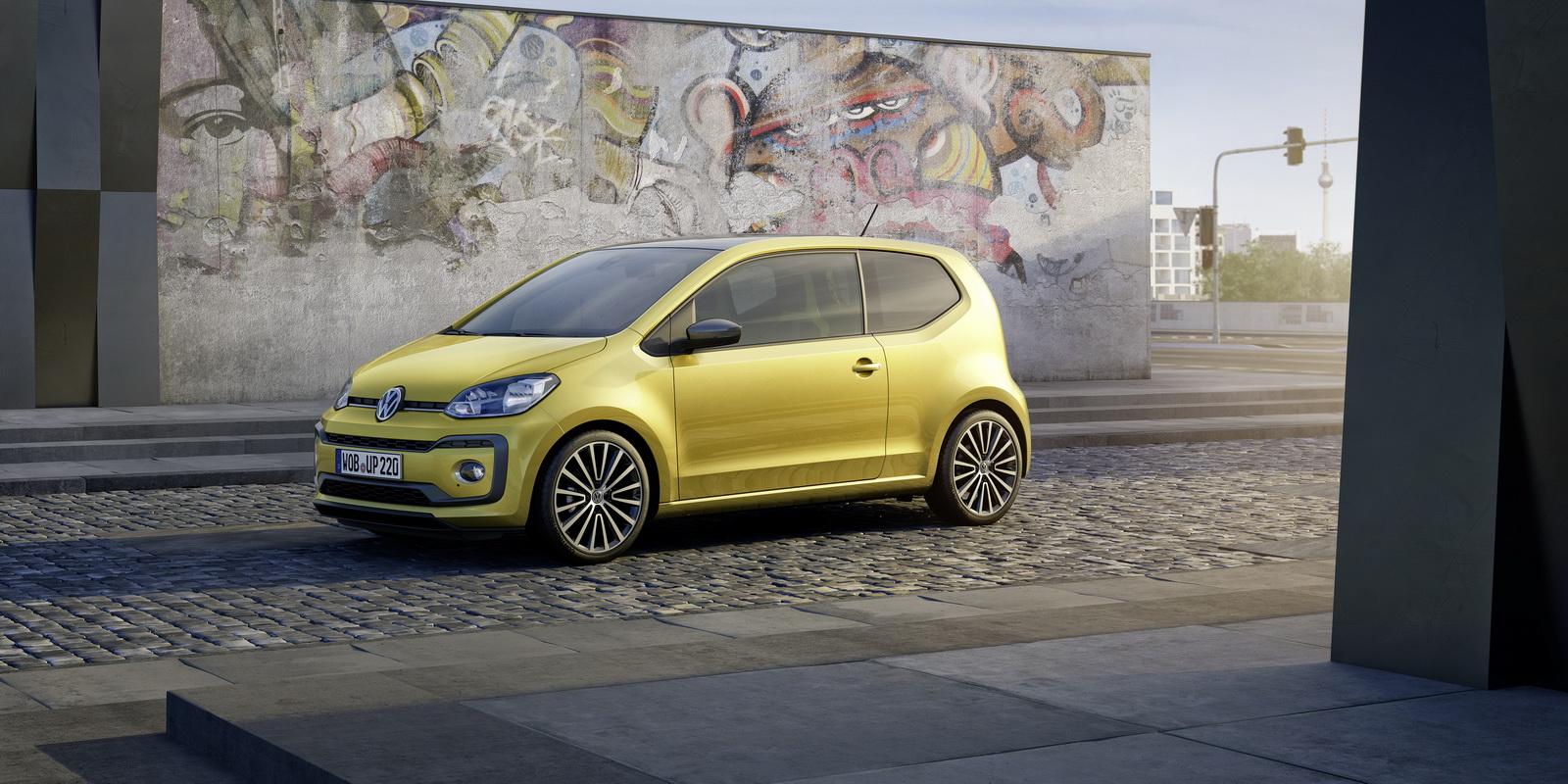 Volkswagen Up! facelifting 2017
