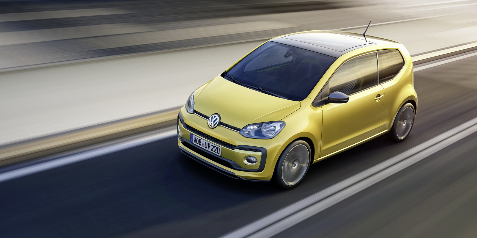 Volkswagen Up! facelifting 2017