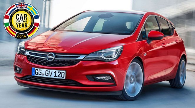Opel Astra COTY