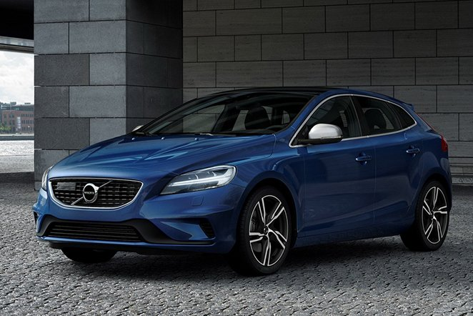 Volvo V40 2016 facelifting