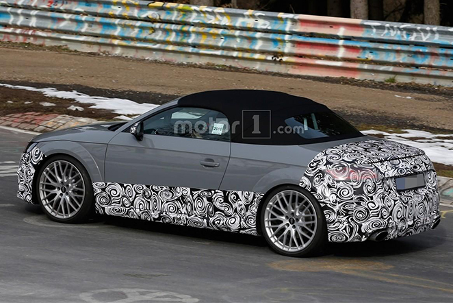Audi TT RS Roadster Spy