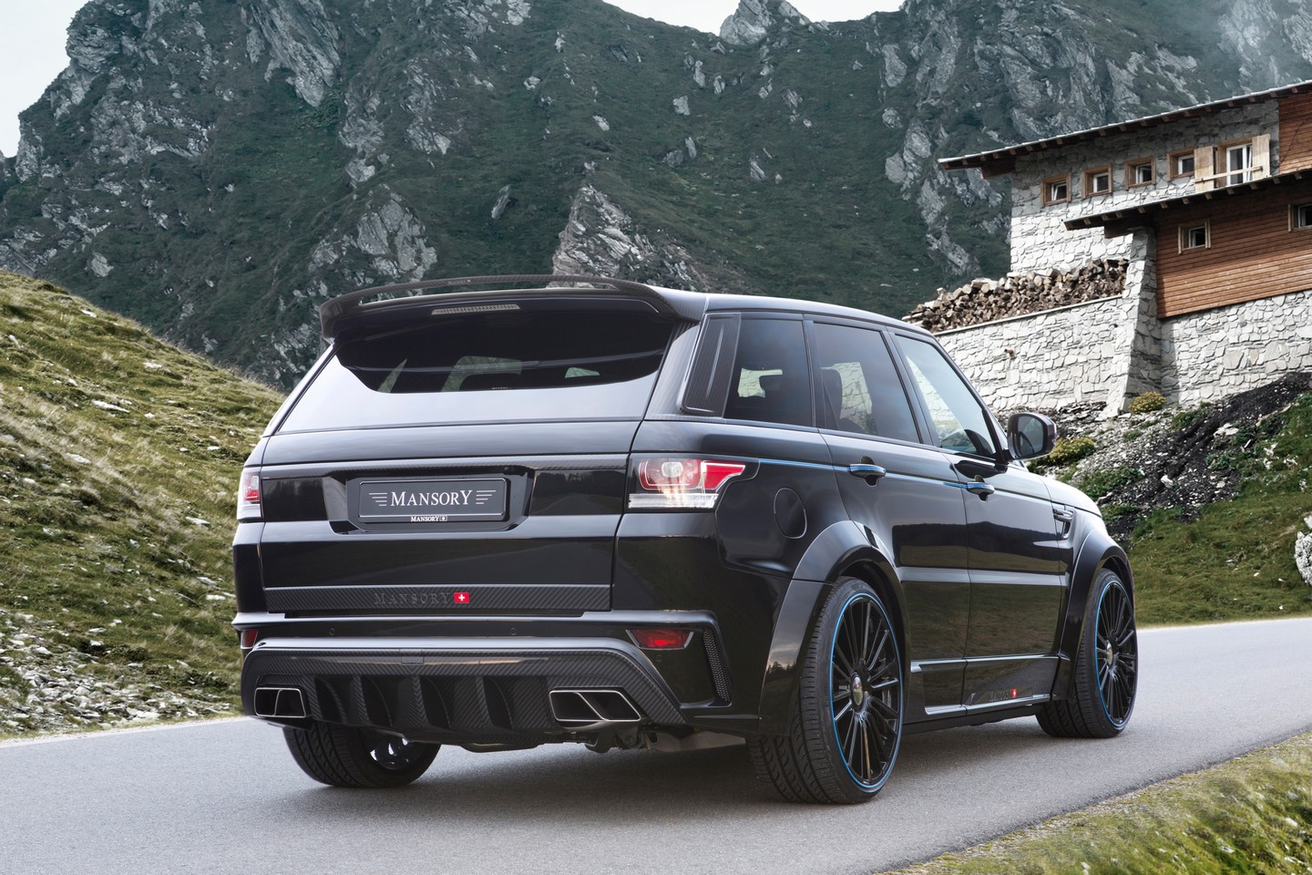 Range Rover Sport Carbon Mansory