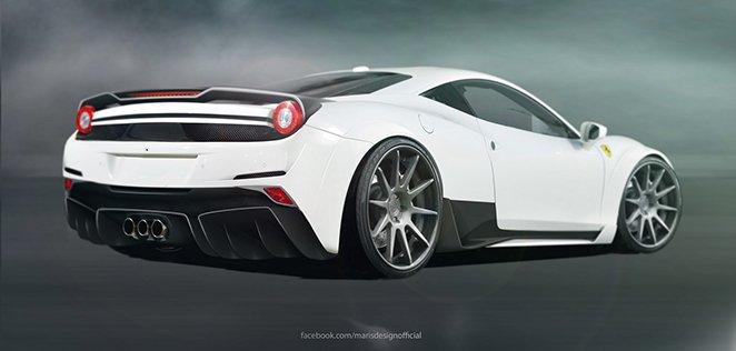 Atarius Concept Ferrari 458 Italia