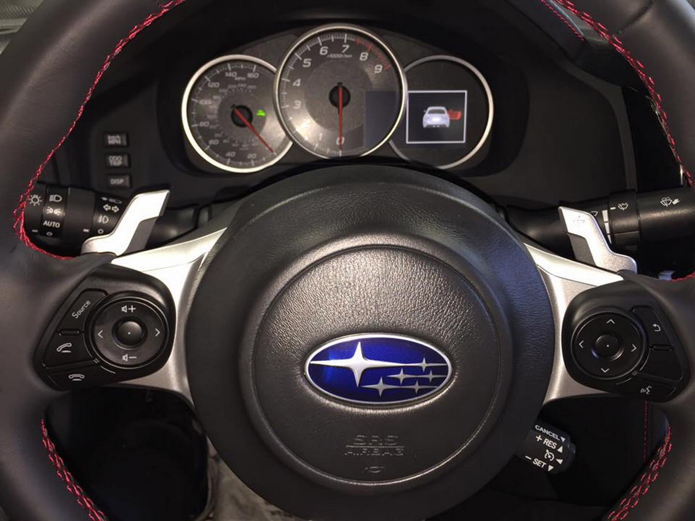 Subaru BRZ 2017 facelifting wyciek