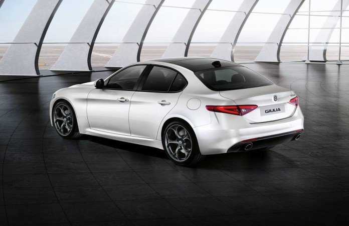 Alfa Romeo Giulia rear view