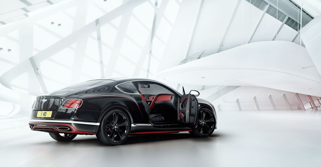 Bentley Continental GT Black Speed