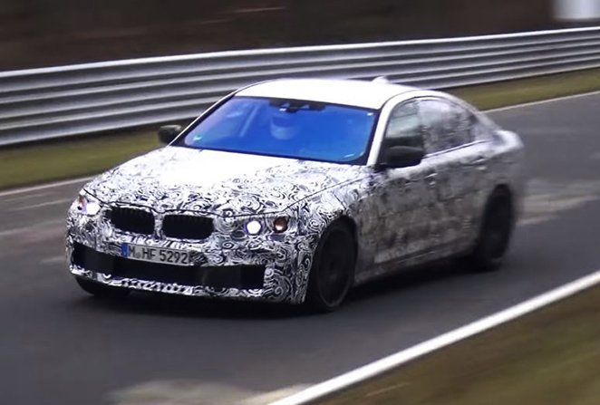 2017 BMW M5 nurburgring