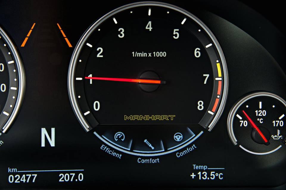 Manhart MHX6 700 BMW X6 M
