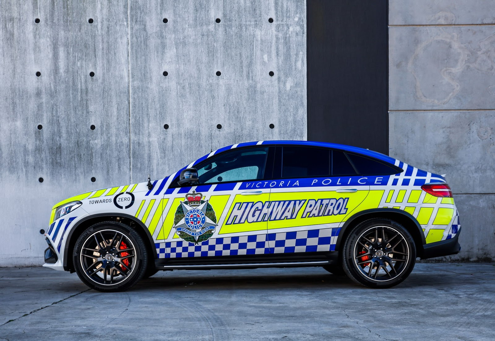 Mercedes-AMG GLE63 S Coupe police