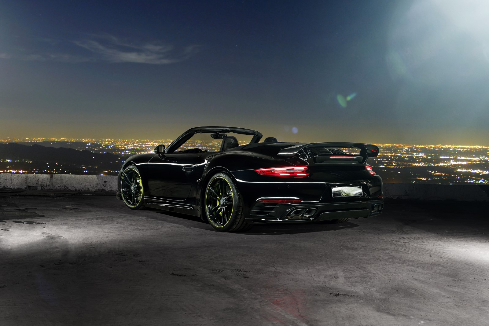 TechArt Porsche 911 991.2 Turbo S Cabriolet