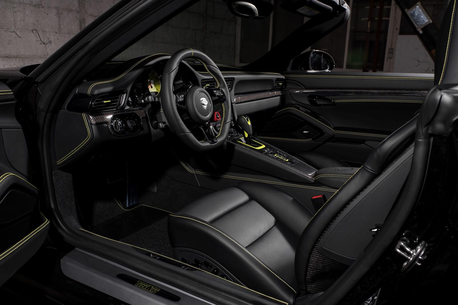 TechArt Porsche 911 991.2 Turbo S Cabriolet