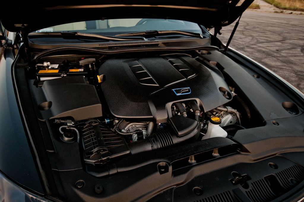 Lexus IS-F engine