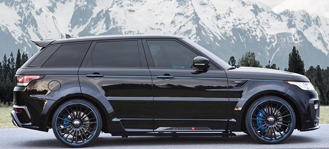 Range Rover Sport Mansory Carbon