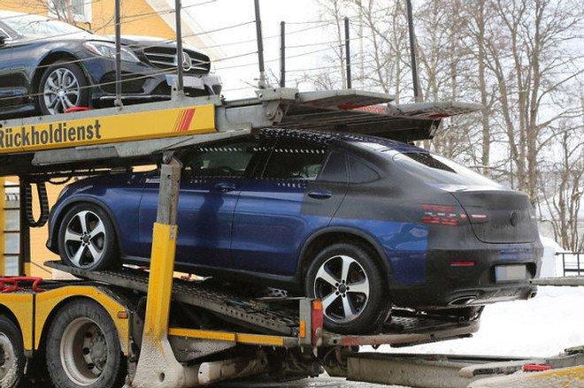 Mercedes GLC Coupe spy