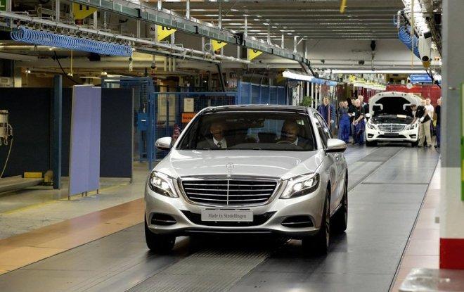 Mercedes Klasy S produkcja