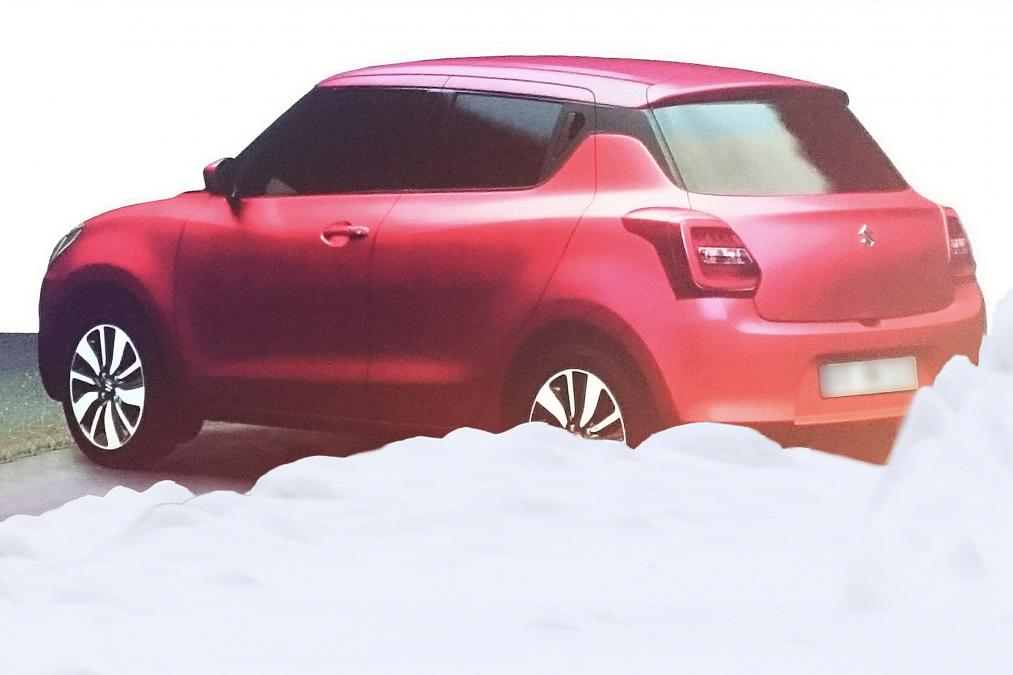 Suzuki Swift leaked 2017