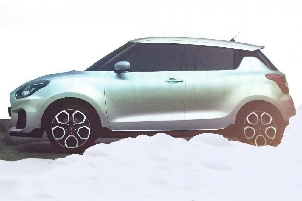 Suzuki Swift leaked 2017