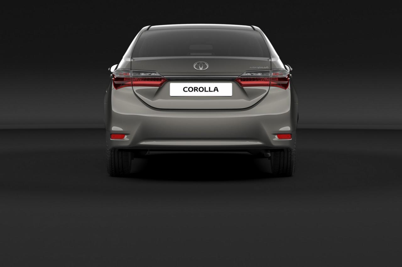 Toyota Corolla 2016 facelift