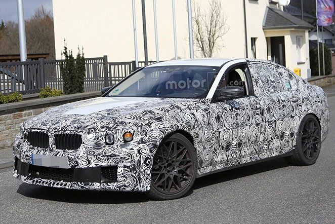 BMW M5 2018 Spyshot