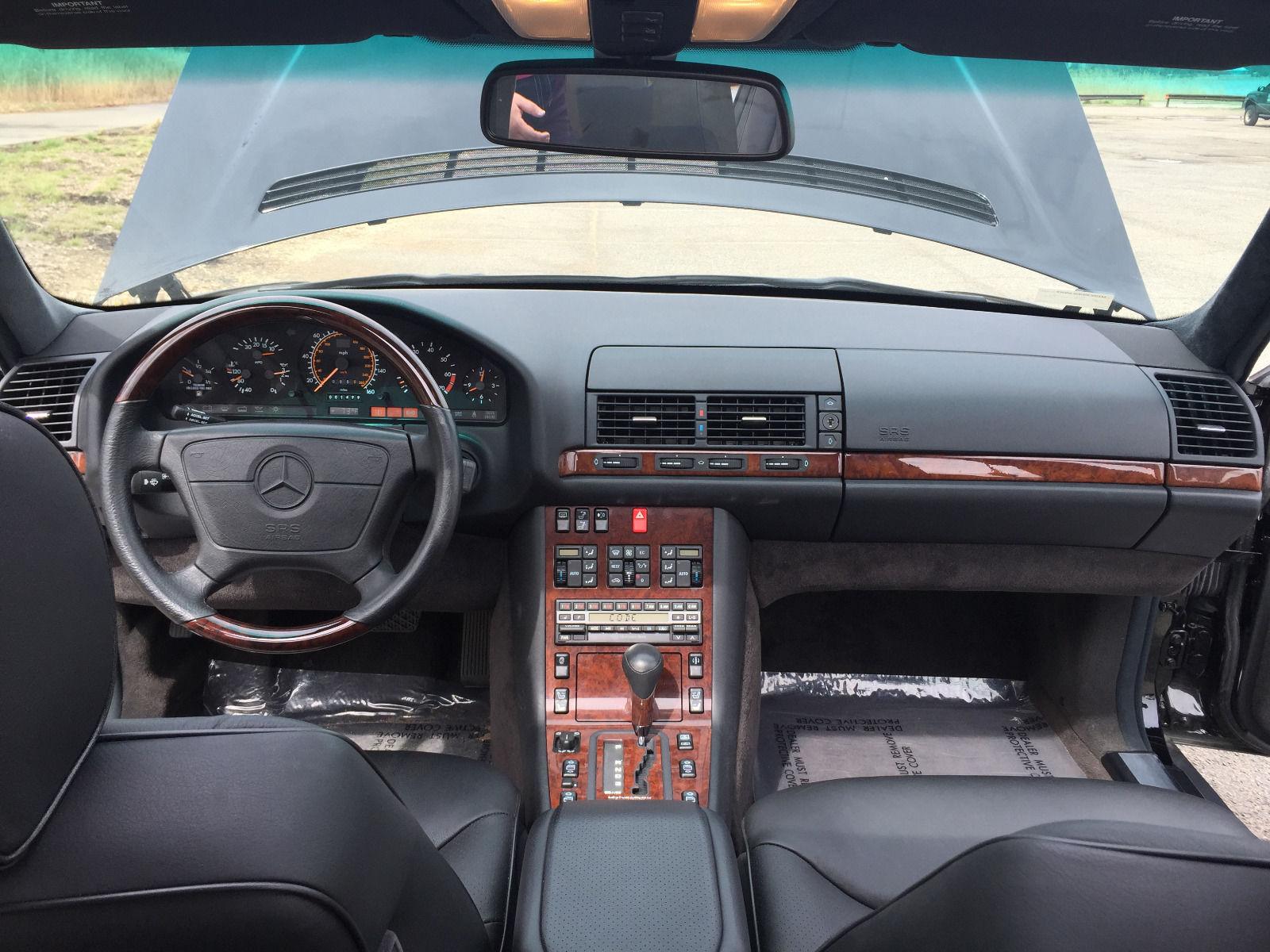 Mercedes Klasy S 1992