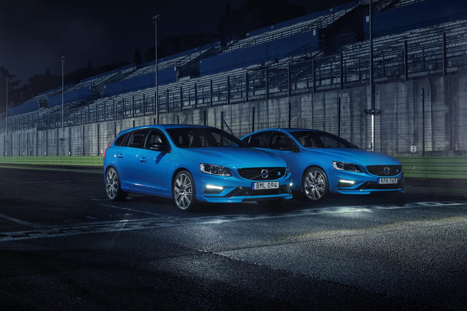 Volvo S60 V60 Polestar 2017