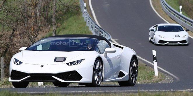 Lamborghini Huracan Superleggera spyshot