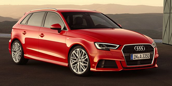Audi A3 facelifting 2017