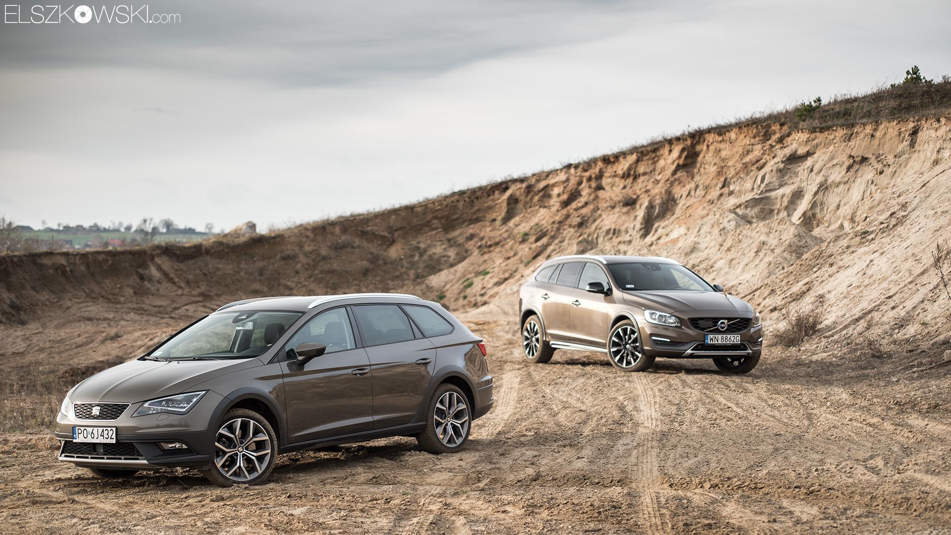 Test porównawczy Volvo i Seat