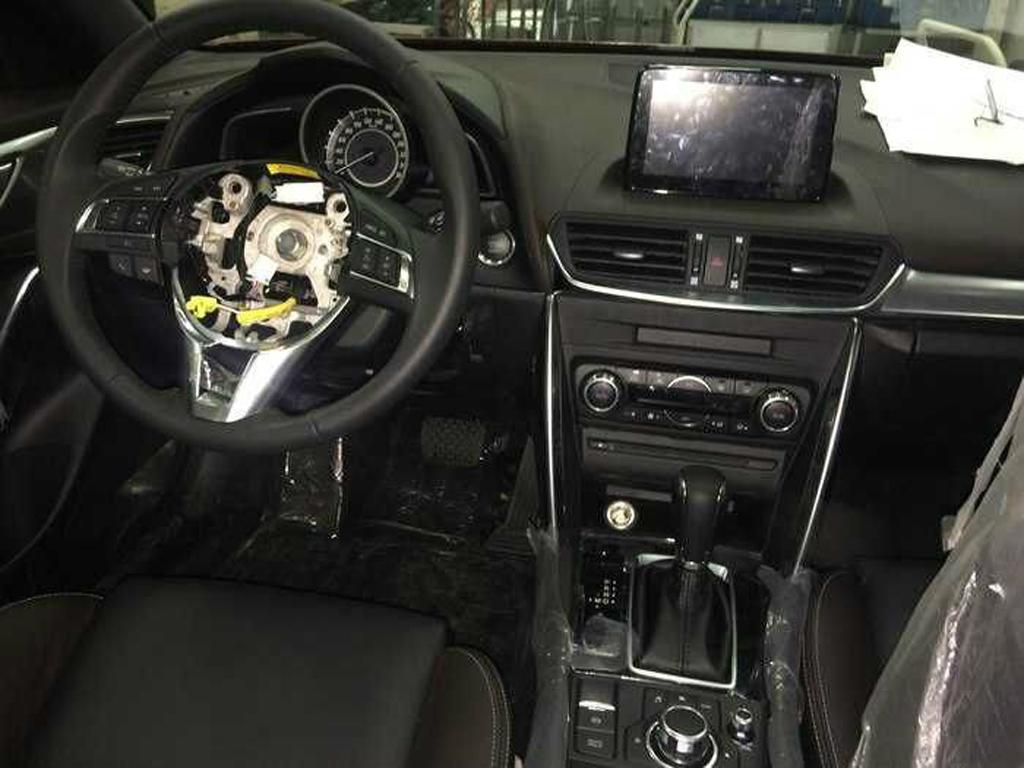 Mazda CX-4 2016 leaked